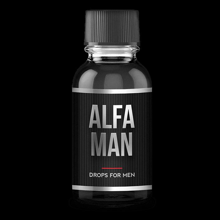 Alfa Man - капли для потенции в Кызылорде